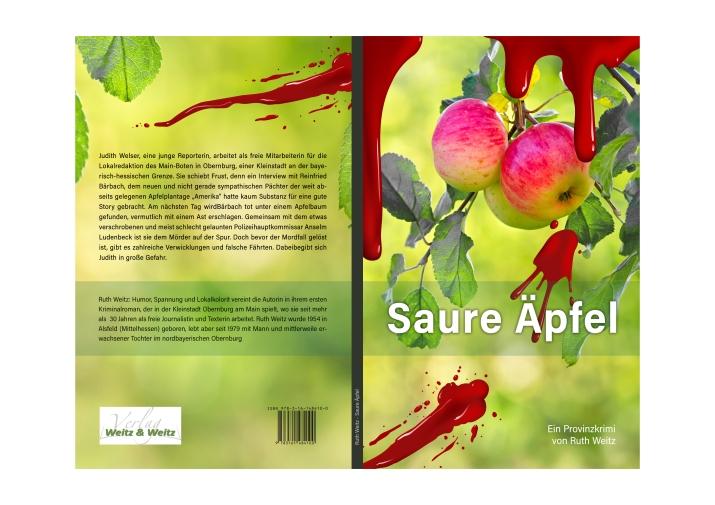 Saure Äpfel, ein Provinkrimi von Ruth Weitz